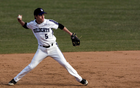 The trio of seniors Scott Heelan, Cody Stevens (pictured) and Kyle Ruchim appear set to lead the Wildcats in 2015, barring any setbacks. Stevens isn't sure of the position he'll play, but his versatility is a part of his strong fielding ability.