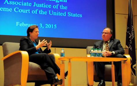 Justice Elena Kagan visits law school, discusses law school model