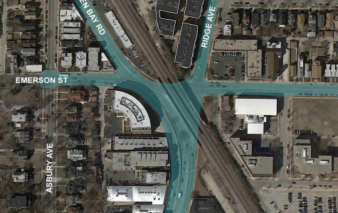 Evanston residents discuss concerns over busy intersection