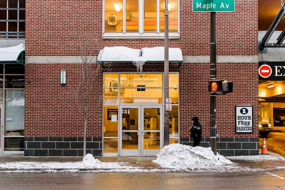 The Evanston-owned property at 1800 Maple Ave. could be used as a medical marijuana dispensary by the end of the year. The company Pharmacann LLC is taking steps to obtain a license from the state.