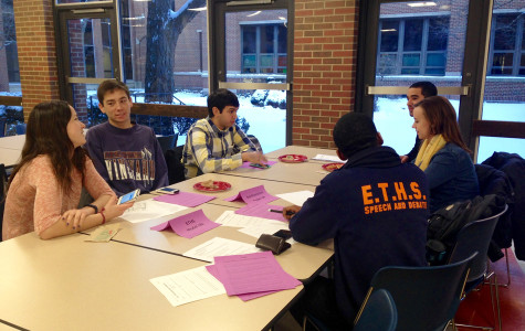 Evanston Township High School welcomes Northwestern student groups