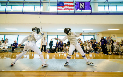 Fencing: Northwestern dominates Duke, North Carolina in weekend sweep