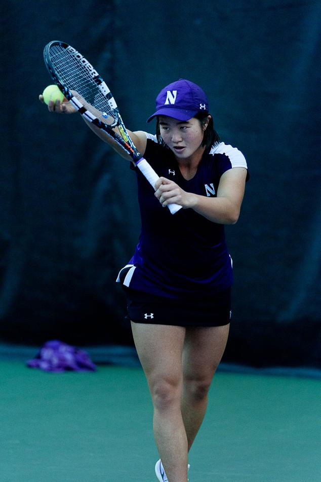 It was a long week for Northwestern, as the team prepared to get out of an early-season hole. But thanks to a robust effort, especially by senior Lok Sze Leung and her clinching point against Purdue, the Wildcats swept their weekend matches to move above .500 for the season.