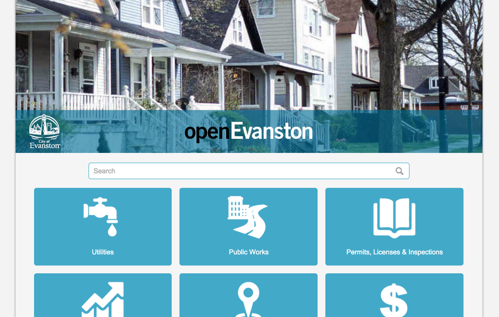 Evanston's open data portal contains information and data from various city departments. The city launched the site a week ago in an effort to improve transparency.