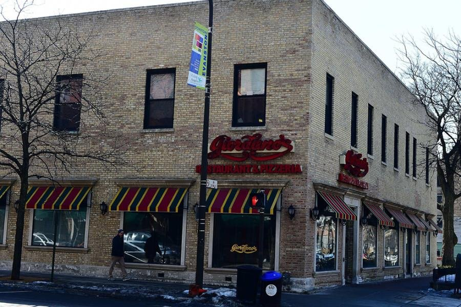 The Evanston branch of Giordano's,  located at the intersection of Chicago Avenue and Davis Street, closed Friday. The franchise said it plans to reopen an Evanston location under new management.