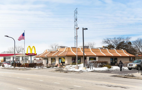 McDonald's, pictured here at 1919 Dempster St., employs people at the minimum wage. Recent efforts on a statewide and Chicago level to raise the minimum wage have raised questions of a possible wage hike among some Evanston residents.
