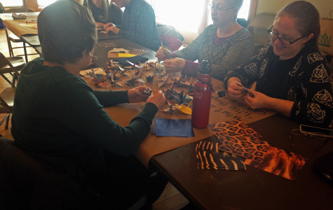 Evanston holds origami folding event to promote peace