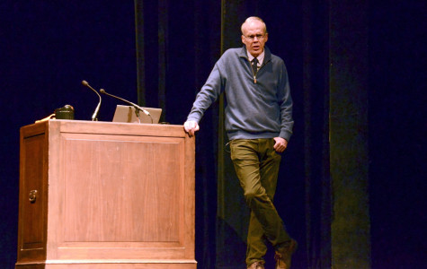 Bill McKibben discusses climate change, emphasizes importance of environmental movements