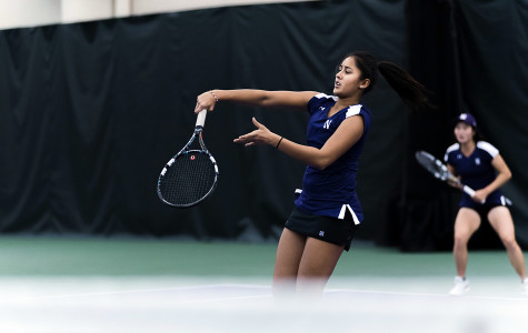 Women's Tennis: Freshmen start to find themselves in matchups with Baylor, Texas