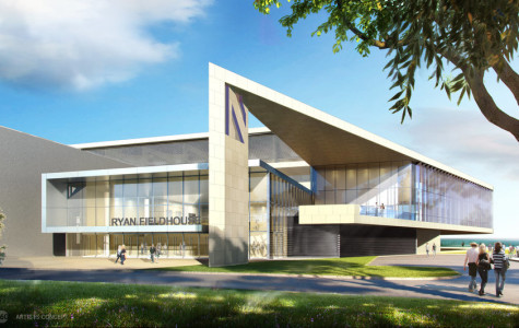 Northwestern to file permit for Ryan Fieldhouse construction