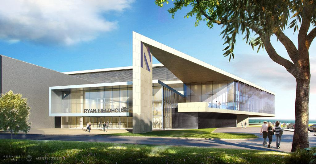Ryan Fieldhouse, depicted above in a rendering, will be a multipurpose facility for athletic practices and competitions and recreational activities. The University announced on Wednesday that it plans to file permits to begin construction on the fieldhouse in spring.