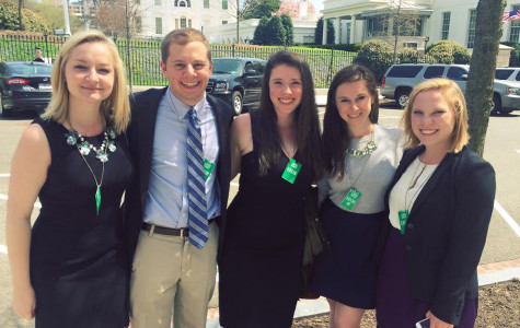 """Five Northwestern students discussed higher education policy reform at the White House on Monday. The students went to Washington as part of the Association of Big Ten Students' """"Big Ten on the Hill"""" event."""