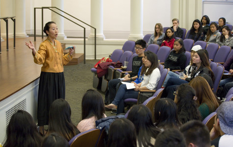 "Students discuss the ""Asian bubble,"" campus social interactions"