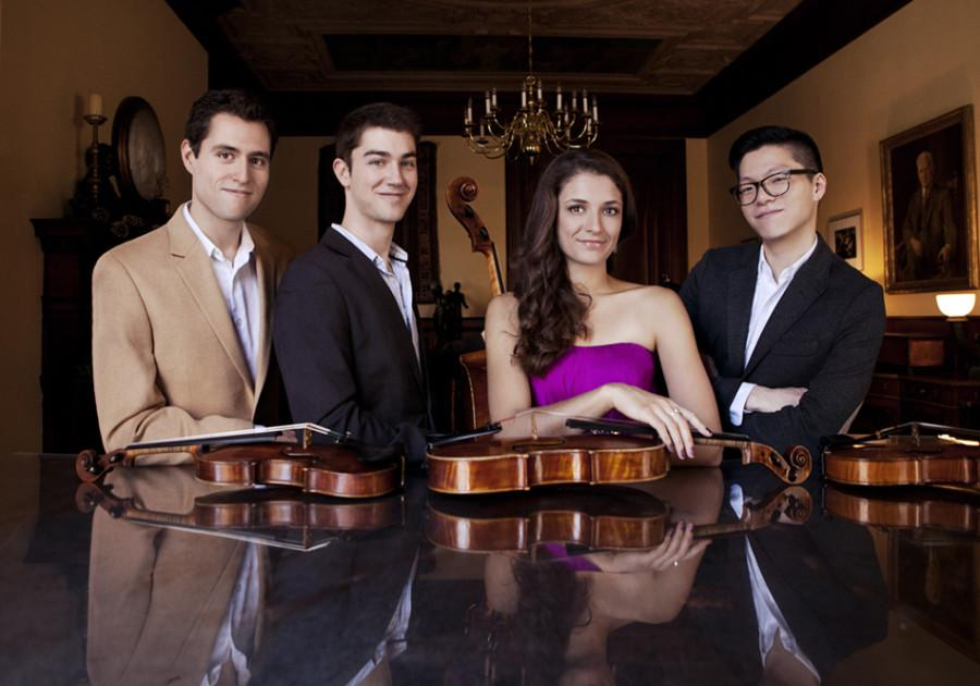 The award-winning Dover Quartet will start their three-year residency at the Bienen School of Music this fall, where the members will perform and teach master classes. The members of the quartet met when they were students at the Curtis Institute of Music in Philadelphia.