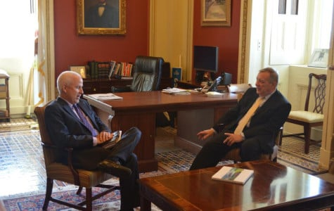 Schapiro meets with Durbin, discusses funding