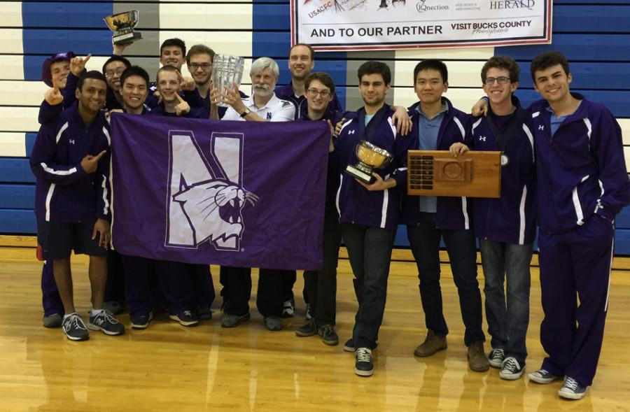 The+Northwestern+men%E2%80%99s+club+fencing+team+won+the+national+championship+for+the+fifth+time+in+the+club%E2%80%99s+history.+The+team+lost+its+varsity+status+at+the+end+of+the+1994+season.