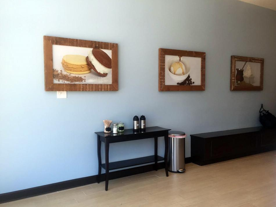 Frio Gelato opened a new retail location last week at 517 Dempster St. The shop serves Argentine-inspired gelato.