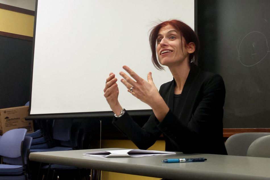 Law professor Deborah Tuerkheimer discusses legal proceedings in sexual abuse cases. Tuerkheimer's visit was part of this week's Take Back The Night programming.