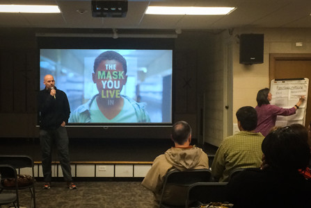 Local churches host discussion of documentary about masculinity, gender stereotypes