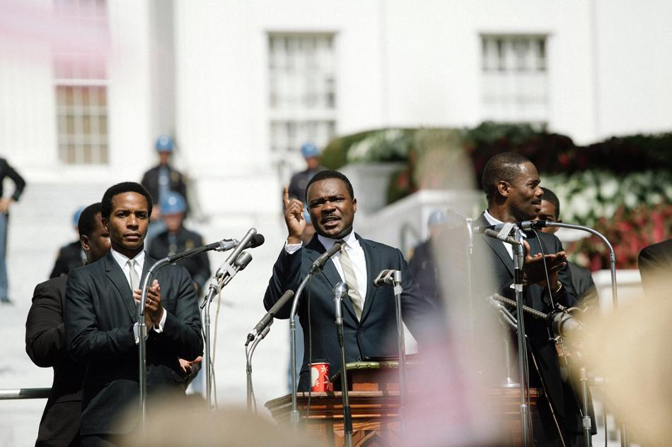 "Actor David Oyelowo plays Martin Luther King Jr. in the 2014 film ""Selma."" The film's director, Ava DuVernay, will speak at Northwestern on May 18 following a screening of the film."