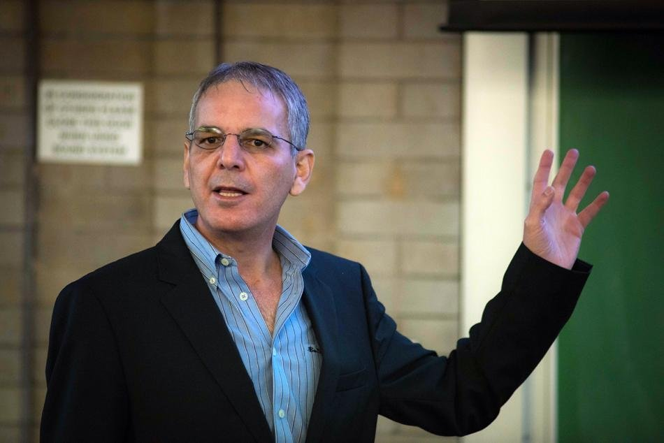 University of Wisconsin-Parkside sociology professor Seif Da'na discusses colonialism and Zionism in the Israeli-Palestinian conflict Thursday night in Swift Hall. The event was sponsored by Northwestern's chapter of Students for Justice in Palestine as part of their Israeli Apartheid Week.