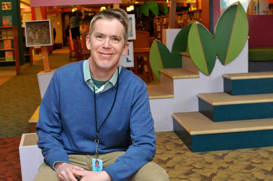 Brian Wilson was selected to be a part of the 2017 Caldecott Award Selection Committee. Wilson has worked at the Evanston Public Library since 2001.