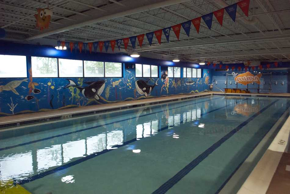 Goldfish Swim School provides specialized swim instruction to infants and children. The facility opened Thursday at 2008 Dempster St.