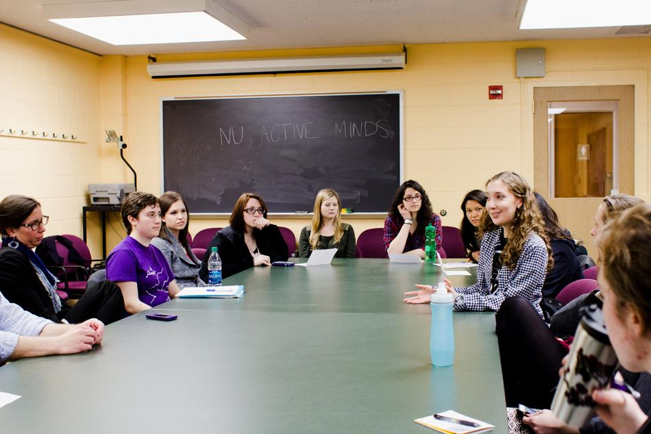 Students and administrators discuss Northwestern's mental health resources at a panel Thursday night. The panel hosted by NU Active Minds touched on leaves of absence and criticisms of mental health services at NU.