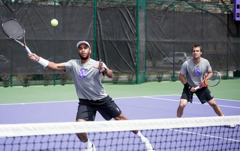 Men's Tennis: Wildcats grab one more wild win before season ends