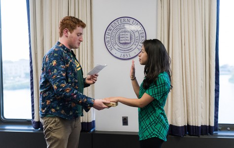 McCormick sophomore Wendy Roldan is confirmed at Senate on Wednesday as Associated Student Government's new vice president for student life. Senate also discussed a tobacco-free resolution and approved ASG's operating budget.