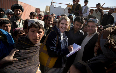 Foreign correspondent Kathy Gannon reports for the Associated Press. Gannon has been awarded the 2014 James Foley Medill Medal for Courage in Journalism for her work covering the Middle East.