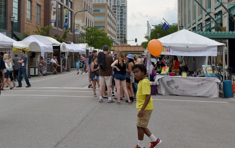 Captured: Evanston artists show work at Fountain Square Art Festival