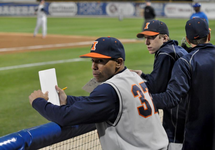 New+Northwestern+baseball+coach+Spencer+Allen+was+an+assistant+at+Illinois+in+2014.+Allen+takes+over+for+Paul+Stevens%2C+who+spent+27+years+as+the+Wildcats%27+head+coach.