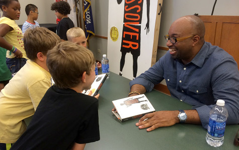 Newbery Medalist Kwame Alexander engages Evanston kids with novel on basketball, growing up