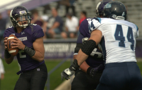 Former Northwestern quarterback Kain Colter led the ultimately unsuccessful effort to unionize the NU football team.