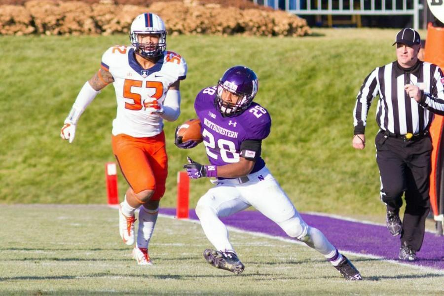 Sophomore+running+back+Justin+Jackson+will+look+to+build+on+an+impressive+freshman+campaign+when+Northwestern+kicks+off+Sept.+5.