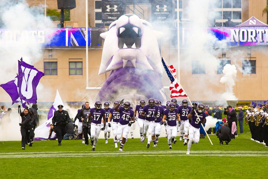 Northwestern+will+emerge+from+the+tunnel+Sept.+5+against+Stanford+with+redshirt+freshman+Clayton+Thorson+at+quarterback.