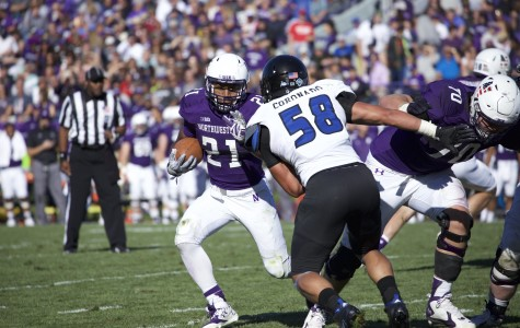 Football: Running backs dominant in Northwestern's blowout win