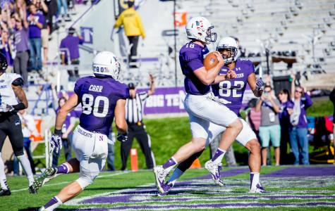 Northwestern rolls past Eastern Illinois for 41-0 blowout victory