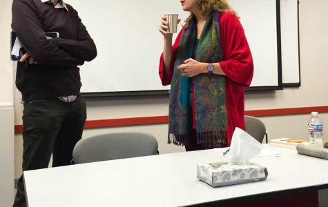 Ex-BBC correspondent Lara Pawson speaks at Northwestern