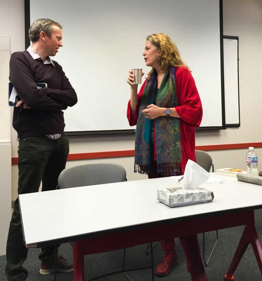 """Former BBC correspondent Lara Pawson spoke at the African Studies building Wednesday about her new book. """"In the Name of the People: Angola's Forgotten Massacre"""" chronicles the events of May 27, 1977, which left thousands of people dead."""