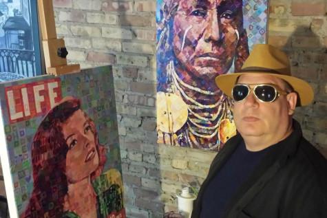 Evanston artist wins award for pop art and portrait work