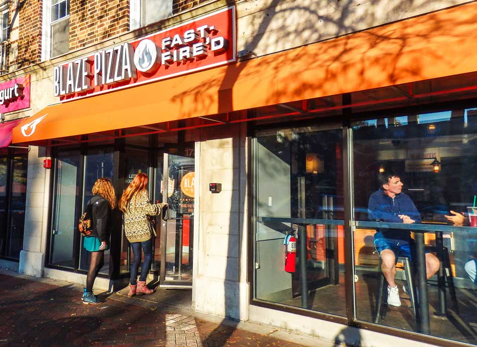 Numerous student groups reported long delays in receiving fundraising checks from Blaze Pizza in Evanston. At least 14 groups still haven't received checks from events last spring.