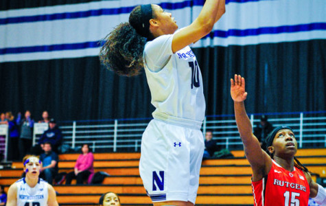 Nia Coffey goes up for a shot. The junior forward is looking to lead the Wildcats back to the NCAA Tournament, where they made their first appearance since 1997 last season.