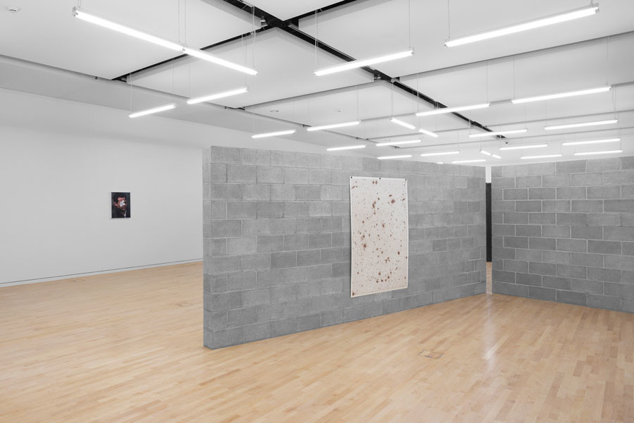 """""""Geof Oppenheimer: Big Boss and the Ecstasy of Pressures,"""" an exhibit at the Mary and Leigh Block Museum of Art, features a sculpture called """"Civil/Evil."""" Block Cinema is screening a series of films selected by Oppenheimer that explore issues related to the exhibit."""