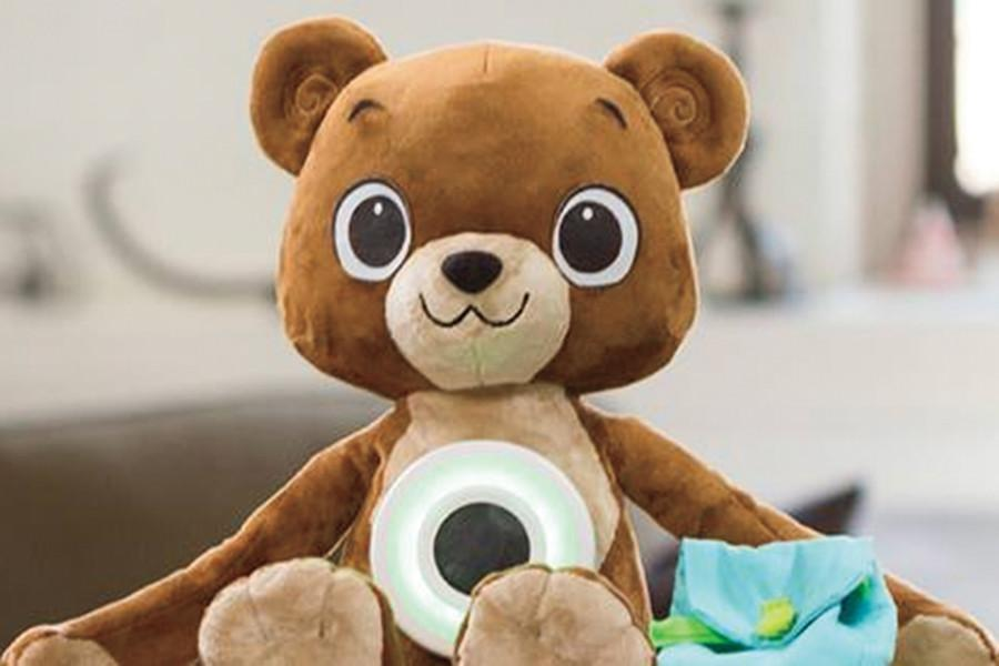 The second version of Jerry the Bear ramps up interactive components, including a new module on food allergies. The improved toy can now be pre-ordered for next summer.