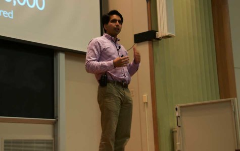 Khan Academy founder speaks to NU on changing platform of education