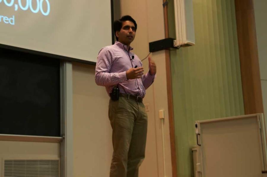 Khan Academy founder speaks to NU on changing platform of