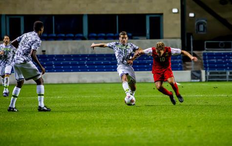 Men's Soccer: Wildcats ride defensive momentum to DePaul