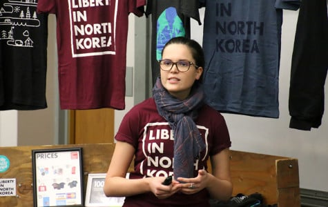 Korean student groups discuss North Korean refugee crisis